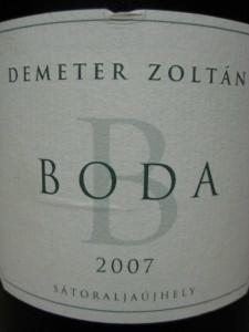 Demeter Boda 2007